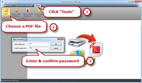 Activate Apply Password Window